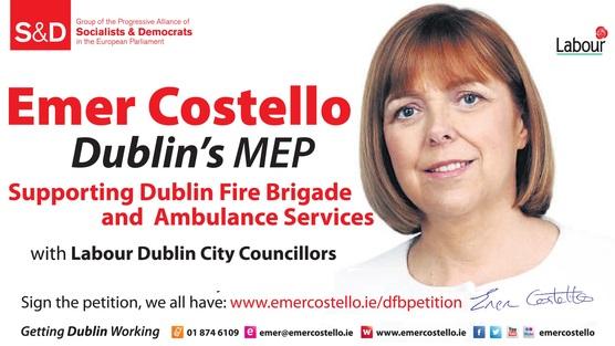 Emer Costello Dublin Firebrigade