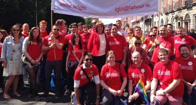 Dublin Pride 2014 Labour LGBT
