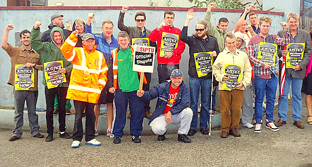 greyhound workers labour support
